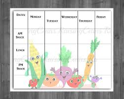 lunch menu template free 10 daycare menu templates free sle exle format