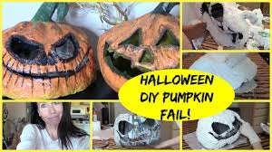 Paper Mache Pumpkin How To Make A Paper Mache Pumpkin Epic Fail Youtube