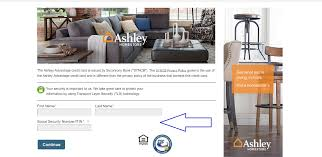 ashley furniture credit card number osetacouleur