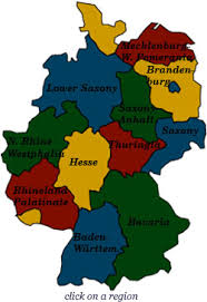 map of regions of germany castle hotels of germany
