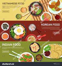 asian street food web banner thai stock vector 316493951