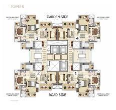 Belvedere Floor Plan The Belvedere Ajnara Belvedere Sector 79 Noida
