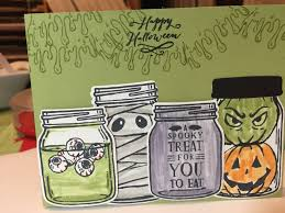 stampin u0027 up jar of haunts holiday 2016 stampin up pinterest
