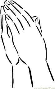 praying 2 coloring page free body coloring pages