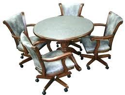 Chromcraft Furniture Kitchen Chair With Wheels Kitchen Chairs Wheels Dining Room Chairs With Casters Chromcraft