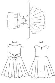 blank slate amaryllis dress downloadable pattern