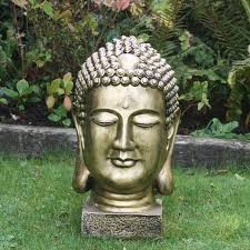 buddha statue garden sculpture ornament gardensite co uk