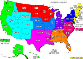 map of the united states united states zip code map mapsof
