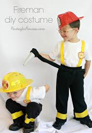 fireman costume diy costumes for pennies