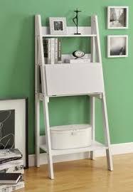 Book Case Desk Metro Ladder Shelf With Desk Contemporary Desk Office Spaces