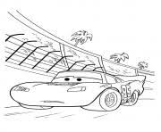 cars lightning mcqueen mater 16 a4 disney coloring pages