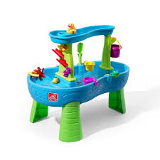 water table for 1 year old step2 rain showers splash pond water table playset sincereviews
