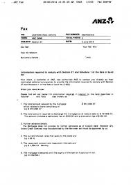 section 27 bank confirmation letter