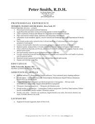 hygienist resume example