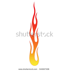 flame tattoo tribal sketch fire tattoo stock vector 614723018