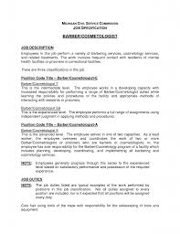 Beauty Therapist Resume Template Interests For Resume List Examples Of Resumes Interests And