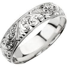 carved wedding bands carved engraved wedding bands