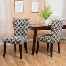 HomePop Parson Deluxe Multicolor Ikat Dining Chairs Set Of  By - Upholstery fabric for dining room chairs