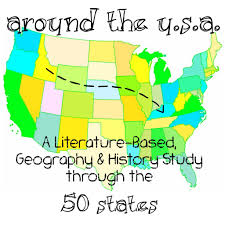 United States Map Game by Free 50 States Literature Based Geography And History Study Plan