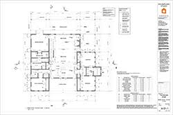 Sample Floor Plan For House What U0027s Included Houseplans Com