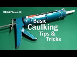 Caulking Bathtub Tips Basic Caulking Tips U0026 Tricks How To Youtube