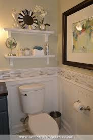 Diy Bathroom Ideas Pinterest by Best 25 Shelves Above Toilet Ideas On Pinterest Half Bathroom