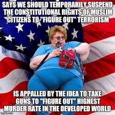 Obese Meme - obese conservative american woman meme generator imgflip