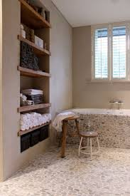 river rock bathroom ideas 19 best standing pebble tile images on pebble tiles