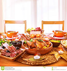thanksgiving day dinner stock photo image of 35486268