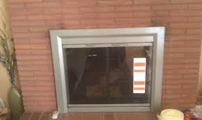 installing fireplace doors nice home design fancy in installing