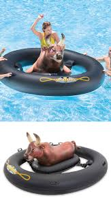 14 cool pool toys and games bull riding pool fun and backyard