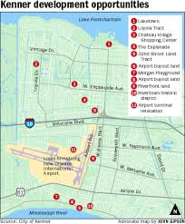 New Orleans Zoning Map by Kenner Master Plan Lays Out City U0027s Problems Possibilities State