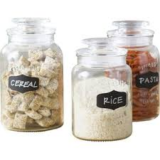 Square Kitchen Canisters by Glass Kitchen Canisters U0026 Jars