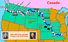 clark map lewis and clark for