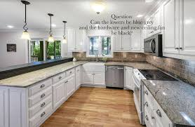 blue kitchen cabinets with granite countertops wwmd will a white kitchen work with my existing granite