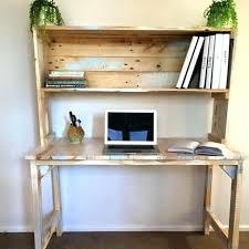 bureau palette bois etagere sur bureau actagares bureau rangement etagere poser sur