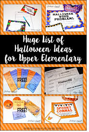 halloween math halloween activities and ideas for upper elementary teaching to