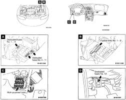 chrysler sebring questions where are fuses located on chysler