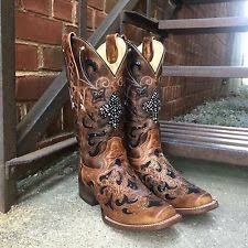 womens corral boots size 12 s size 11 corral boots ebay