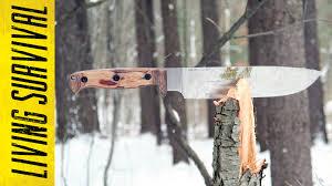 The Woodsman Company Ontario Woodsman Bushcraft Knife Youtube