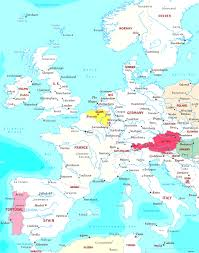 France Map With Cities by Europe Maps With Map Western Europe Cities Evenakliyat Biz
