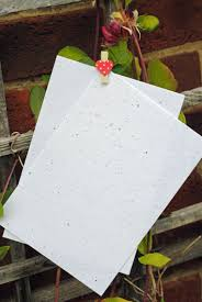 seed cards seed paper plantable flower seed paper seeded paper