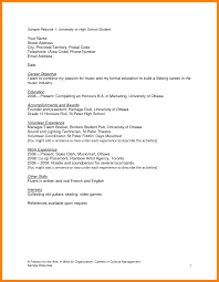 Resume Template For College Students by College Student Resumes 10 Resume Template For Students 17