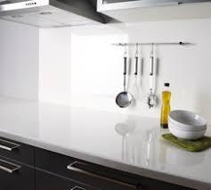 plan de travail cuisine blanc brillant plan de travail stratifié décor blanc brillant l 3 m x p 63 cm x