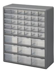 storage cabinet with drawers stack on ds 39 39 drawer storage cabinet gray amazon ca tools