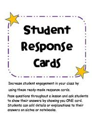 response cards student engagement cards student response cards by smarty room