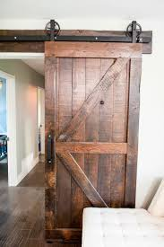 How To Build A Barn Door Frame Best 25 Interior Barn Doors Ideas On Pinterest Knock On The