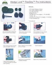 flexgrip single gun tool bow u0026 or utility rack atv tek polaris