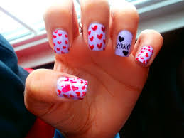 the carrie diaries inspired valentine u0027s day hearts u0026 xoxo nails