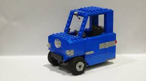 smallest cars lego ideas peel p50